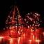 ไฟแฟรี่ ไฟลวด LED ตกแต่ง หักงอได้ ยาว 2 เมตร สีแดง thumbnail 5