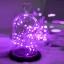 ไฟแฟรี่ ไฟลวด LED ตกแต่ง หักงอได้ ยาว 2 เมตร สีม่วง thumbnail 2