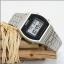 นาฬิกา CASIO ดิจิตอล สีเงินสายสแตนเลส รุ่น B640WD-1 STANDARD DIGITAL ของแท้ รับประกันศูนย์ 1 ปี thumbnail 3