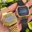 นาฬิกา CASIO ดิจิตอล สีทอง รุ่น A168WG-9 STANDARD DIGITAL RETRO CLASSIC ของแท้ รับประกันศูนย์ 1 ปี thumbnail 3