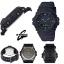 นาฬิกา CASIO G-SHOCK G-100 series Limited Black Out Basic Black color รุ่น G-100BB-1 ของแท้ รับประกัน 1 ปี thumbnail 2