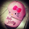 หมวก Hello Kitty คิตตี้ เหมาะสำหรับเด็กอายุ 5-12ปี ปรับสายปรับขนาดด้านหลัง #3