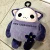 [Sale] ตุ๊กตา น่ารัก ด้านในซ่อนถุงผ้าลดโลกร้อน ขนาดตุ๊กตาสูง6นิ้ว ขนาดถุง 15x16นิ้ว