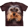 Big Face Yorkshire Terrier Dog T-Shirts