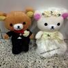 เซ็ตแต่งงาน ริลัคคุมะ และ โคะริลัคคุมะ 9นิ้ว ท่ายืน