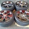 WHD101 - DAD ขอบ 19 กว้าง 8 off +35, +45 4,5H114.3 ยาง Bridgestone 245/35/19 yr2010