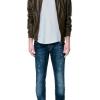 เสื้อหนังสุดเทห์(zara men's brown classic jacket)