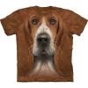 Big-face Basset Hound Dog T-Shirts