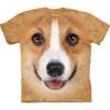 Big-Face Corgi Face Dog T-Shirts