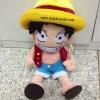 ตุ๊กตา ลูฟี่ วันพีซ Luffy One Piece ยิ้วกว้าง ขนาด 24นิ้ว