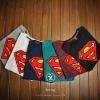 t-shirt couple models superman เสื้อยืดแฟชั่นสุดแนว