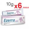 EZERRA 10g แพค 6 ชิ้น รวม 60g (เฉลี่ยหลอดละ 129 บาท) ขนาดทดลอง 6 หลอด รักษาผิวหน้าที่ติดสเตียรอยด์ ให้กลับมาดีกว่าเดิม เพิ่มความชุ่มชื้น คืนความแข็งแรงสู่ผิว ***หายาก**