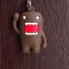 ที่ห้อยโทรศัพท์มือถือ Domo Kun สีน้ำตาล