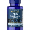 Puritan's Pride Alpha Lipoic Acid 100 mg / 120 Capsules