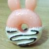 จุกเสียบป้องกันฝุ่น โดนัทหูกระต่าย (งาน Handmade)