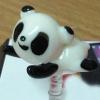 จุกเสียบป้องกันฝุ่นคุณ Panda (งาน Handmade)