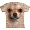The Mountain Big Face Chihuahua Dog T-Shirts
