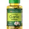 Puritan's Pride Odorless Garlic 1000 mg / 100 Rapid Release Softgels