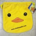 ถุงผ้าหูรูด ลาย เป็ดฮ่องกง B Duck