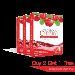 [Promotion] Acerola Cherry Buy 2 get 1 แอมเซล อะเซโรล่า เชอร์รี่ พลัส ซื้อ 2 แถม 1