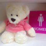 """""""Pinky bearry"""" ตุ๊กตาหมีตระกูลแบรี่ ขนนุ้มนุ่ม ขนละเอียดมาก สวมเสื้อมีหมวกลายสกรีนหน้าหมีแบรี่ ไม่เหมือนใคร ของขึ้นห้าง ราคาพิเศษ 399.- ปกติ 750.- เหมาะกับเทศกาลเทคของขวัญ ช่วงรับน้องอย่างยิ่งครับ Playcorner จัดส่งทั่วประเทศ ของมีจำกัด (ขนาด 40c"""