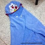 ผ้าคลุมไหล่ พร้อม Hood Doraemon โดเรมอน
