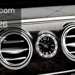 เพชรครอบนาฬิกา Mercedes Benz แบบกลม