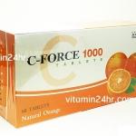 C-FORCE 1000 60 เม็ด ทานได้นาน 2 เดือน