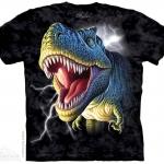 เสื้อยืด3Dสุดแนว(LIGHTINING REX T-SHIRT)