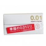 Sagami Original 0.01 กล่อง 5 ชิ้น Sagami Original ถุงยางอนามัยที่บางที่สุดในโลก 0.01 มม. 1 กล่อง มี 5 ชิ้น (ผลิตในญี่ปุ่น)