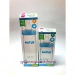 Natur ขวดนมปากกว้างรุ่น hybrid 8ออนซ์(ส่งฟรีEMS)