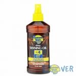แทนนิ่งออยเปลี่ยนสีผิวแทนทองพร้อมปกป้องจากแสงแดด Banana Boat Deep Tanning Oil SPF4 236 ml