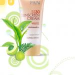 PAN sunscreen white SPF30 -35g