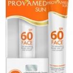 PROVAMED SUN SPF 60 30 G WHITE COLOR