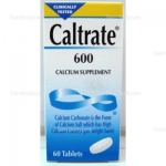Caltrate 600 60 เม็ด
