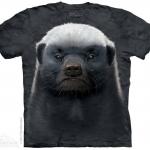 เสื้อยืด3Dสุดแนว(HONEY BADGER T-SHIRT)