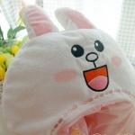 หมวกกันหนาว นุ่มมาก ลาย กระต่ายโคนี่ Cony