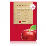 The Saem Natural-tox Apple Mask Sheet มาส์กชีท ที่สกัดจากแอปเปิ้ล ให้ผิวเรียบเนียน กระจ่างใส