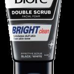 Men's Biore Double Scrub Bright Clean (เมนส์บิโอเร ดับเบิ้ล สครับ ไบร์ท คลีน) 100g