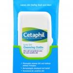 Cetaphil Gentle Skin Cleansing Cloths ผ้าเปียกเช็ดหน้าเซตาฟีล ใช้ดีมากๆๆ สำเนา