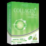 Amsel Collagen Plus 10,000 mg. Melon Mixed Flavour แอมเซล คอลลาเจนพลัส 10000 มก. รสเมลอนมิกซ์