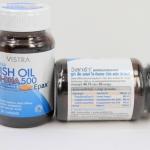 Vistra Fish Oil Hi-DHA500 30เม็ด(ส่งฟรี EMS)