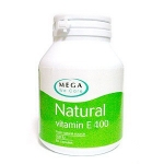 Mega We Care Natural Vitamin E 400 iu 30 แคปซูล