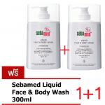Sebamed Liquid Face & Body Wash 300 ml. (ซื้อ 1 แถม1)*ตัวแถมจะเปลี่ยนไปตามรอบแต่ราคาเท่ากันค่ะ