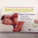 Snoreben สนอรเบน บรรจุ 1 ชิ้น
