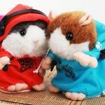 ตุ๊กตา หนูแฮมสเตอร์แร็พเปอร์  Rapper Hamster พูดแบบแร็พๆๆ + เต้น