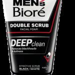 Men's Biore Double Scrub Deep Clean (เมนส์บิโอเร ดับเบิ้ล สครับ ดีพ คลีน)
