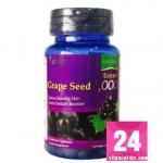 The Nature Grape Seed 1000 mg. เดอะ เนเจอร์ เกรปซีด สารสกัดจากเมล็ดองุ่น บรรจุ 30 เม็ด