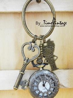 นาฬิกาพวงกุญแจลายน่ารักดีไซต์ I'm a Boy