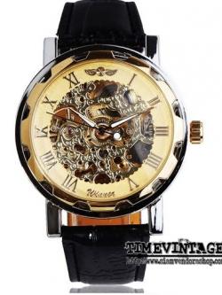 นาฬิกาข้อมือกลไก ดีไซด์ Luxury Metal Steel #1 (พร้อมส่ง)